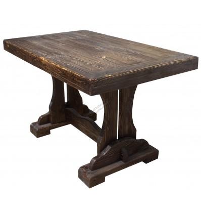 Деревянный стол для кухни Барон