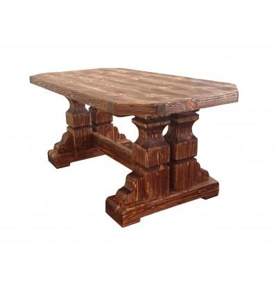 Обеденный состаренный стол Боярин
