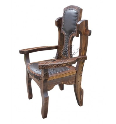 Кресло под старину Викинг