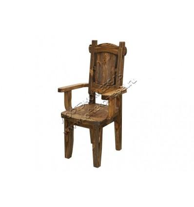 Кресло из массива дерева К-6