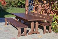 Лавки деревянные для ресторанов