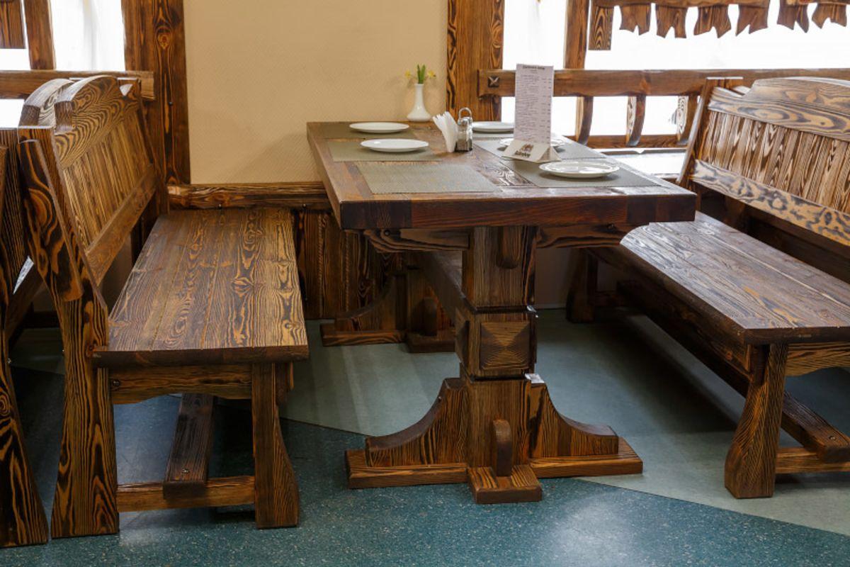 мебель под старину из массива сосны фото
